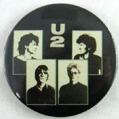 U2 - 'Group Pictures' 56mm Badge